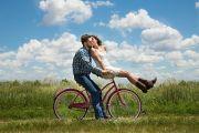 Mit dem Fahrrad - eine Radtour - durch die Rostocker Heide