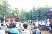 Das erste Konzert in der Rostocker Heide im Waldcafé und Restaurant mit Biergarten - Meyers Hausstelle